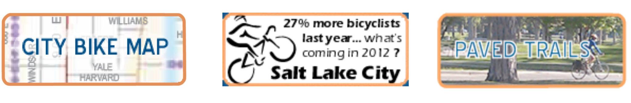 "Biking around town – Salt Lake City Bike Map and ""GREENbike"" Bike Share"