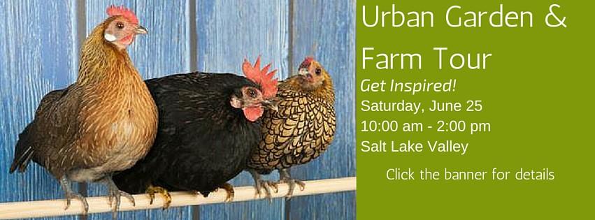 June 25th is the Urban Garden & Farm Tour 2016